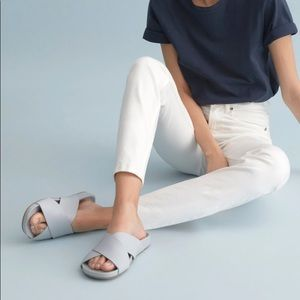 Everlane crossover leather sandals size 10